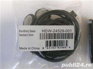 Handsfree BlackBerry cod produs HDW-24529-001 nou plus un mic bonus - imagine 2