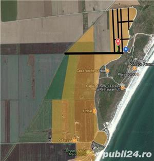 Teren Plaja Corbu Marea Neagra intravilan zona VIP - imagine 3