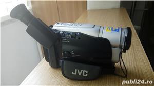 Camera video JVC, cu caseta - imagine 2