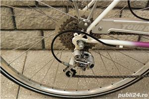 "Bicicleta vintage trekking Tour de Suisse cu roti de 28"" - imagine 4"