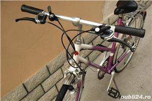 "Bicicleta vintage trekking Tour de Suisse cu roti de 28"" - imagine 7"