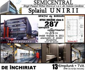 Splaiul Unirii-v.a.v. Asmita, et.2/5, 287mp, imobil modern de birouri 2011 - imagine 1