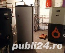 instalatii termice incalzire pardoseala panouri solare acm. cazane lemn peleti biomasa  - imagine 4