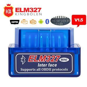 Diagnoza Auto Elm327 Mini Bluetooth OBDII OBD2 versiunea 1.5 - imagine 1