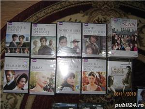100 DVD FILME ORIGINALE DE OSCAR ,COLECTIE BBC,FELLINI,TOMA CARAGIU,MISCAREA DE REZISTENTA,RARITATI - imagine 1