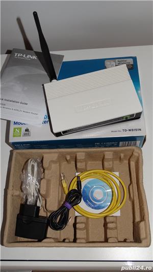 Router Wireless-N TP-LINK TD-W8151N - imagine 3