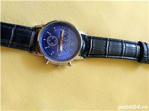 Ceasuri de mana barbatesti cadran albastru curea albastra - imagine 5
