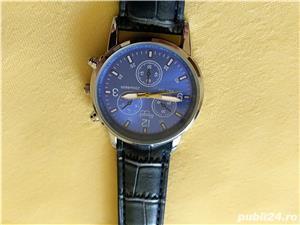 Ceasuri de mana barbatesti cadran albastru curea albastra - imagine 7
