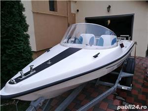 Vind barca cu motor Yamaha 20cp - imagine 1