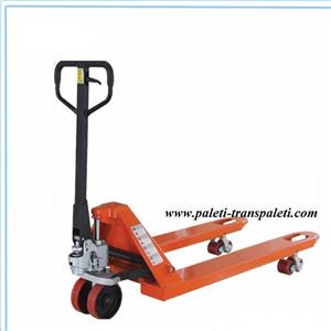 Transpalet manual de 0.5T/ 2t / 2.5t/3T cu ridicare hidraulica - imagine 1