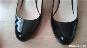 Pantofi Michael Kors negri din piele lacuita, marimea 9,5 US (40,5) - imagine 5