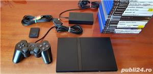 Pachet playstation 2 + 5 jocuri ps2 - imagine 1