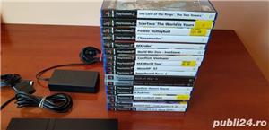 Pachet playstation 2 + 5 jocuri ps2 - imagine 3
