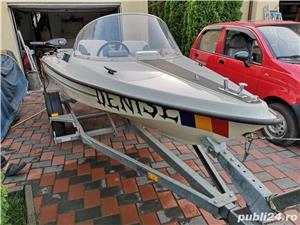 Vind barca cu motor Yamaha 20cp - imagine 11