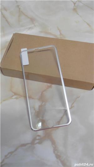 Folie de protectie din sticla securizata Iphone 6/6S, margine aluminiu - imagine 7