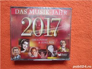 cadou deosebit 3xCD-Das Musik-Jahr 2017- Ereignisse & Jubilaen-Reader's Digest-sigilat - imagine 1