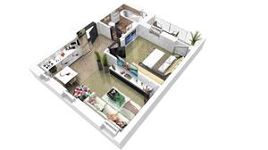 Ap. 2 camere Ciresica Residence – Comision 0% ! - imagine 1