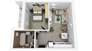 Ap. 2 camere Ciresica Residence – Comision 0% ! - imagine 2