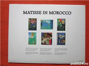 Mapa vintage Matisse in Marocco - Printbook -4 postere, 1990 - imagine 4