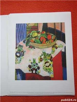 Mapa vintage Matisse in Marocco - Printbook -4 postere, 1990 - imagine 2