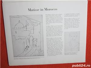 Mapa vintage Matisse in Marocco - Printbook -4 postere, 1990 - imagine 3