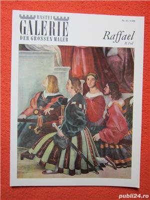 album arta , vintage Raffael -Bastei Galerie der großen Maler - - imagine 2