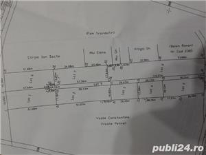teren snagov sat str crizantemelor 500 mp deschidere 28 metri pret 20 metru - imagine 1