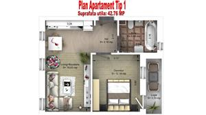 Ap. 2 camere Ciresica Residence – Comision 0% ! - imagine 5