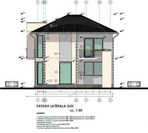 5 camere+4 băi | Ap. TRIPLEX 120 mp | Str. Trifoiului - Șelimbăr - imagine 7