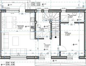 5 camere+4 băi | Ap. TRIPLEX 120 mp | Str. Trifoiului - Șelimbăr - imagine 5