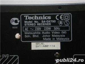 Amplituner statie+tuner radio Technics SA DX 750  - imagine 3