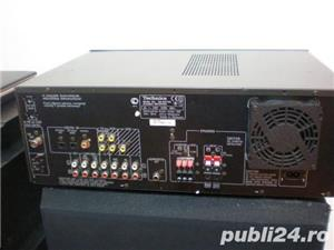 Amplituner statie+tuner radio Technics SA DX 750  - imagine 2