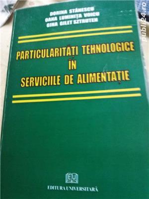 particularitatile tehnologice in serviciile de alimentatie  d. stanescu - imagine 1