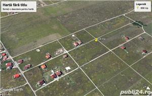 De vanzare teren, 915 mp,  22 m  front, zona Dumbravita - imagine 1