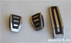 Ornamente inox pedale - VW Touareg (2002-2018) / Audi Q7 (2005-2015) - imagine 2