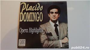 Discuri vinil Placido Domingo ( 2 LP), C.Melidoneanu-N.Taranu - imagine 1