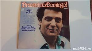 Discuri vinil Placido Domingo ( 2 LP), C.Melidoneanu-N.Taranu - imagine 3