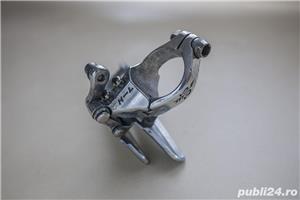 Schimbator fata Shimano 105 Golden Arrow, pentru bicicleta cursiera - imagine 3