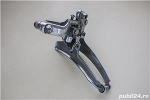 Schimbator fata Shimano 105 Golden Arrow, pentru bicicleta cursiera - imagine 5