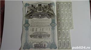 Actiuni vechi Societatea Comunala a Tramvaielor Bucuresti 1923-1943  - imagine 1
