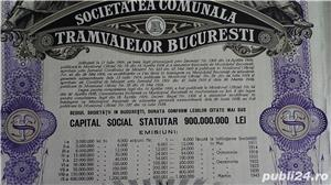Actiuni vechi Societatea Comunala a Tramvaielor Bucuresti 1923-1943  - imagine 5
