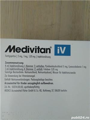 Medivitan vitamina B6 si B12  - imagine 3