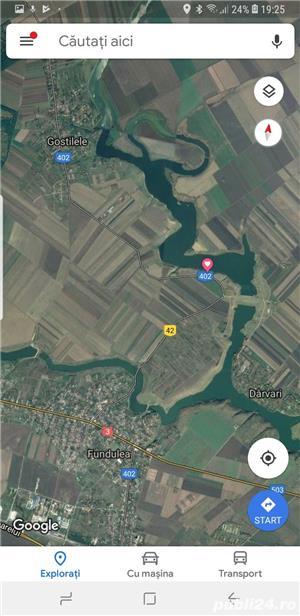 Teren casa vacanta, 35 km Bucuresti, la balta Mostistea - imagine 4