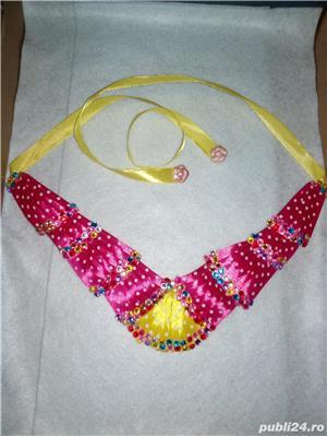 Coliere handmade si suport decor sticla sampanie - imagine 4