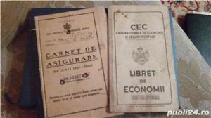 cumpar bancnote vechi, carnete cu ordine plata vechi, actiuni vechi - imagine 1