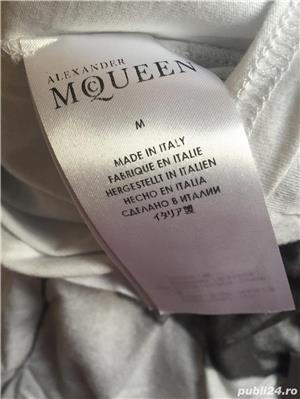 Tricou Alexander McQueen,London dress code,produs original. - imagine 5