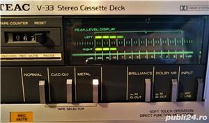 TEAC V 33 Briliance casetofon deck stereo hifi - imagine 4