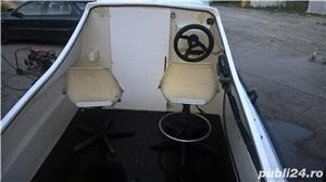 "barca cu cabina Dory 13""+ Honda 40 cp 4 timpi - imagine 2"