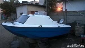 "barca cu cabina Dory 13""+ Honda 40 cp 4 timpi - imagine 1"