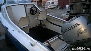 "barca cu cabina Dory 13""+ Honda 40 cp 4 timpi - imagine 5"